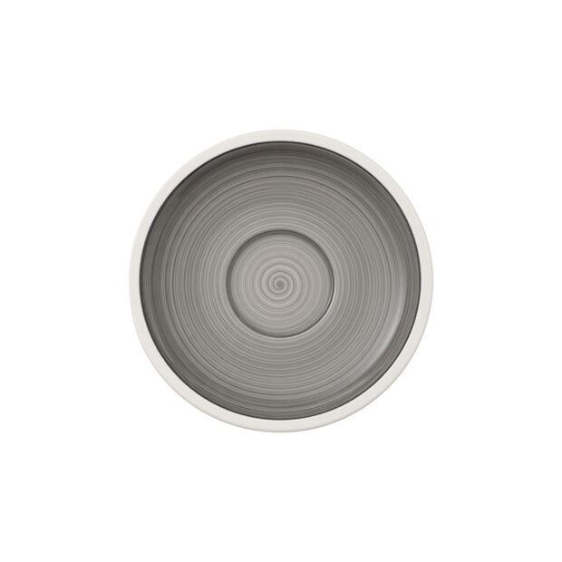 Manufacture gris sous-tasse à café, , large