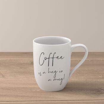 Statement mug «Coffee is a hug in a mug»