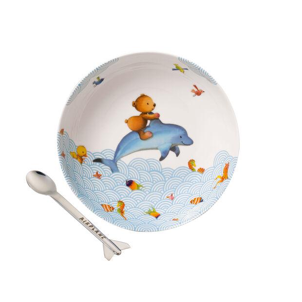 Happy as a Bear Ensemble pr le repas pr enfants, 2 pcs, , large