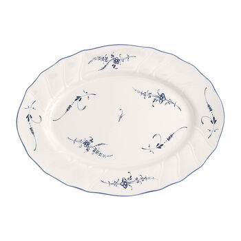 Vieux Luxembourg plat ovale 36cm