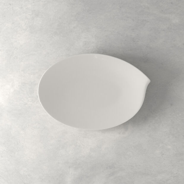 Flow plat ovale 36cm, , large
