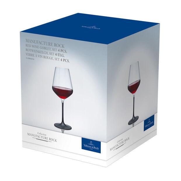 Manufacture Rock verre à vin rouge, 4pièces, 470ml, , large