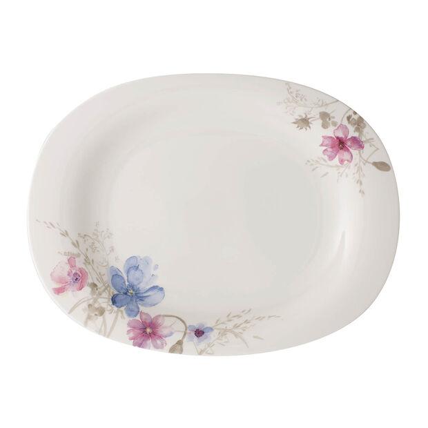 Mariefleur Gris Basic plat à servir 34cm, , large