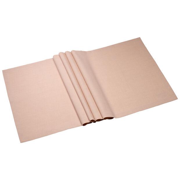 Textil Uni TREND Chemin de table rose peony 75 50x140cm, , large