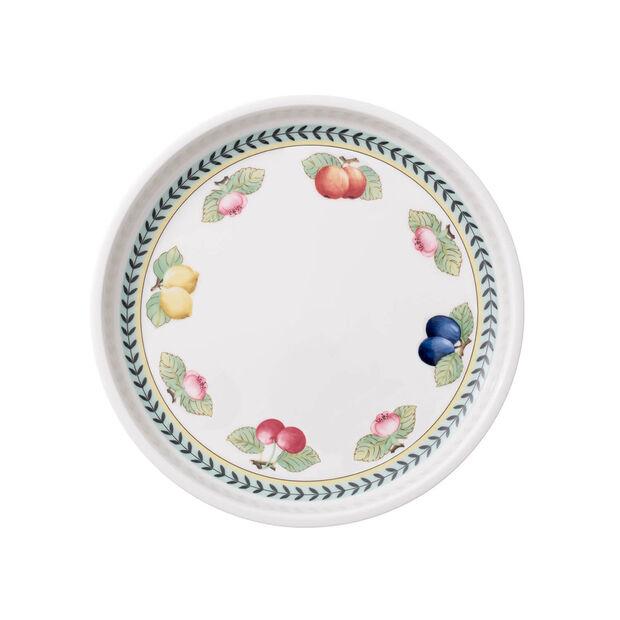 French Garden plat à servir rond 26cm, , large