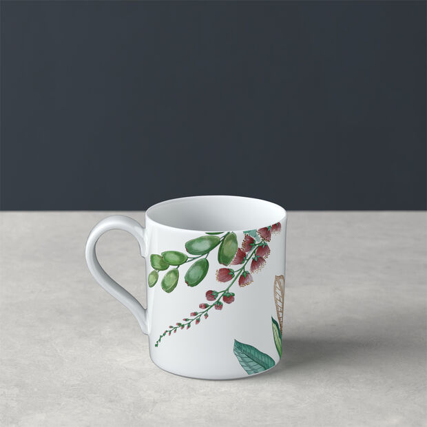 Avarua tasse à thé, 210ml, blanche/multicolore, , large