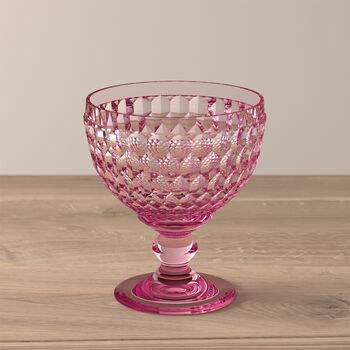 Boston coloured Coupe à champagne/à dessert rose 125mm