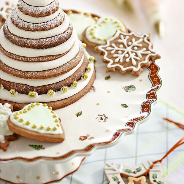 Toy's Delight plat à gâteau sur pied, , large