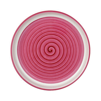 Clever Cooking Pink plat rond 26cm