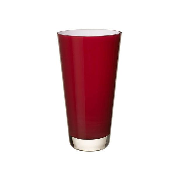 Verso Vase petit deep cherry 250mm, , large