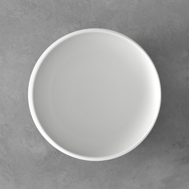 NewMoon plat creux moyen, 2,2l, blanc, , large