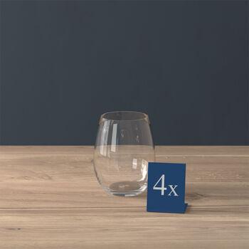 Entrée verre à eau, 480 ml, 4pièces