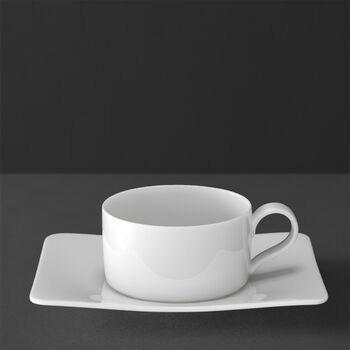 Modern Grace Tasse à thé avec soucoupe 2pcs