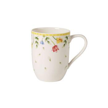 Spring Awakening mug à café champ de fleurs