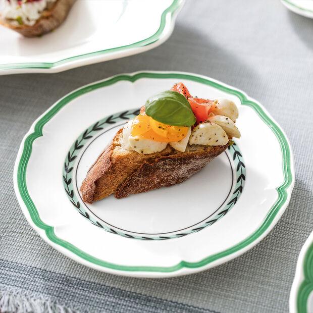 French Garden Green Line assiette à pain, , large