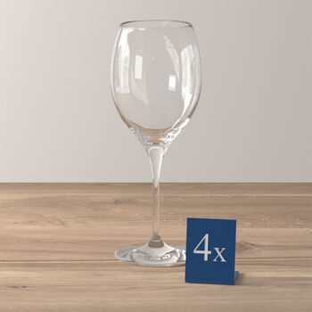 Maxima verres à vin rouge, 4pièces