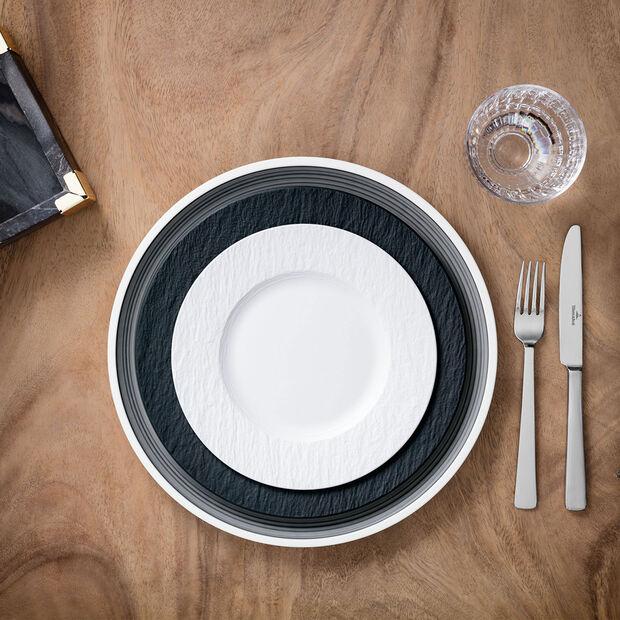 Manufacture Rock Blanc assiette à dessert, , large