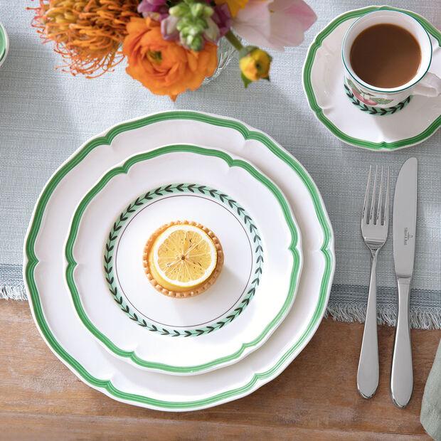 French Garden Green Line assiette à dessert, , large