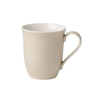 Color Loop Sand mug à anse 13x9x10cm