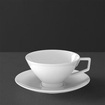 La Classica Nuova Tasse à thé avec soucoupe 2pcs