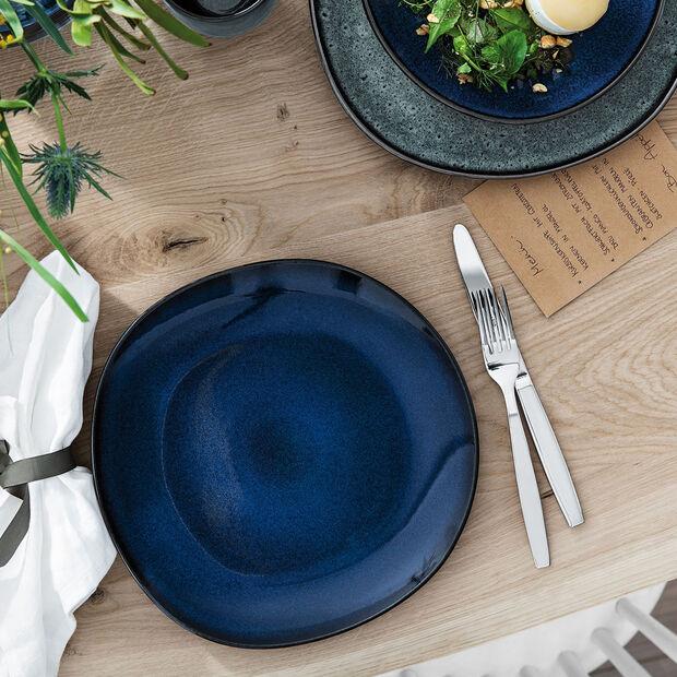 Lave Bleu assiette plate, , large