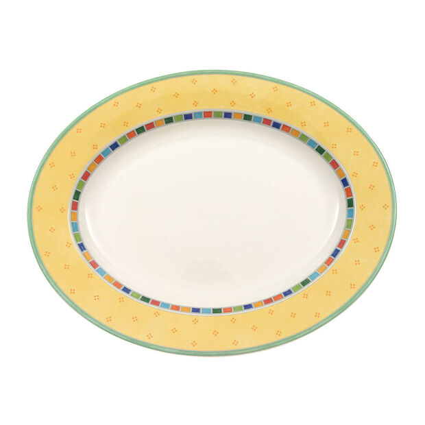 Twist Alea Limone plat ovale 34cm, , large