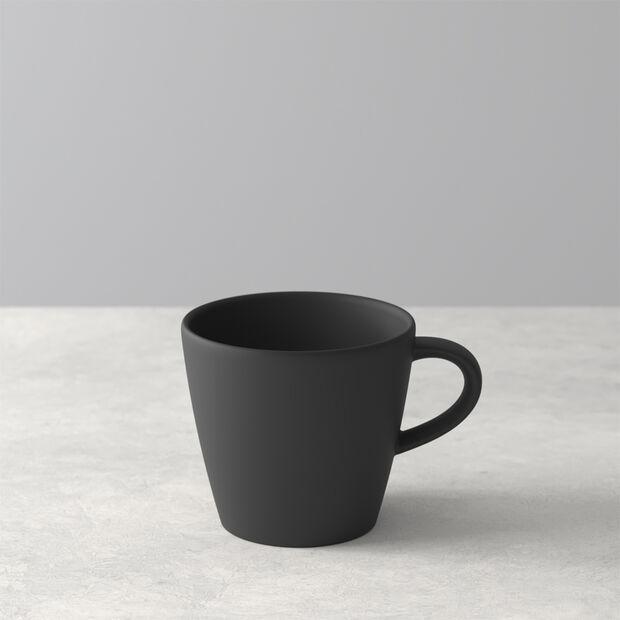 Manufacture Rock tasse à café, noire/grise, 10,5x8x7,5cm, , large