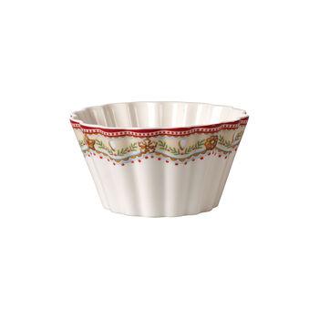Winter Bakery Delight bol motif pains d'épices, rouge/multicolore, 630ml