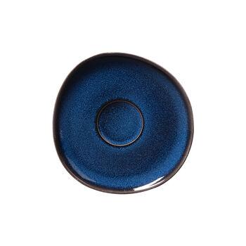 Lave bleu sous-tasse pour tasse à café, 15,5cm