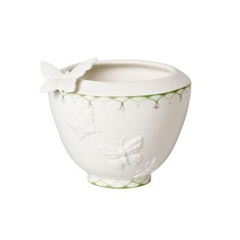 Colourful Spring petit vase, blanc/vert