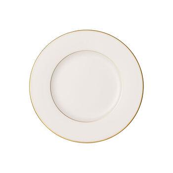 Anmut Gold assiette à dessert, diamètre 22cm, blanc/or