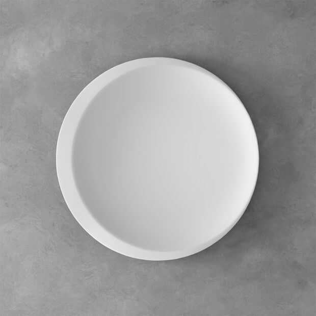 NewMoon plat de présentation, 37cm, blanc, , large