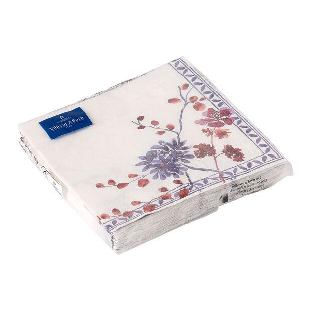 Serviettes en papier Artesano Provencal Lavendel, 20pièces, 33x33cm, , large