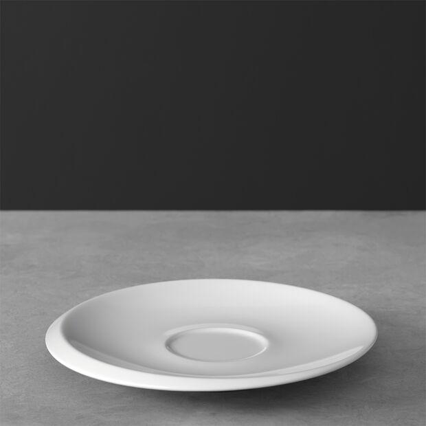 NewMoon sous-tasse pour tasse à café, blanche, , large