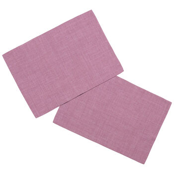 Textil Uni TREND Set de table fuchsia S2 35x50cm