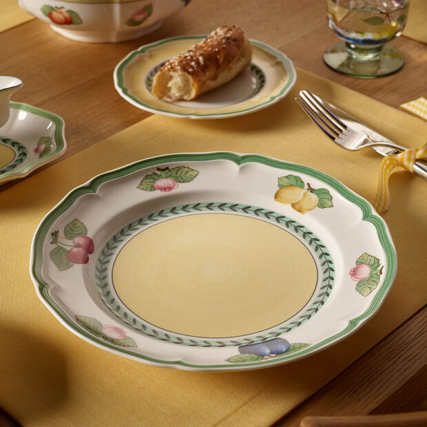 French Garden Fleurence assiette plate, , large