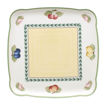 Charm & Breakfast French Garden Plat carré 30cm