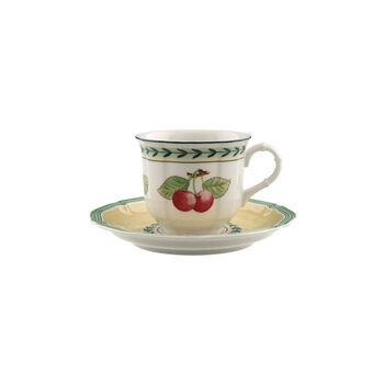 French Garden Fleurence tasse à café avec sous-tasse 2pièces