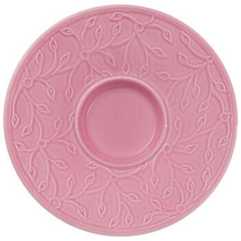 Caffè Club Floral Touch of Rose sous-tasse à moka/expresso