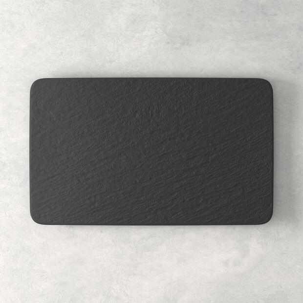 Manufacture Rock assiette multifonctions rectangulaire, 28x17x1cm, , large