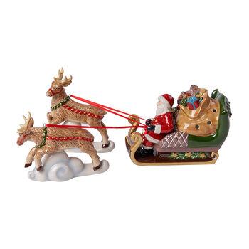 Christmas Toy's traîneau North Pole Express, multicolore, 36x14x17cm