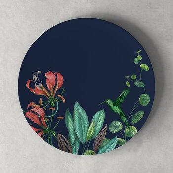 Avarua assiette plate, 27cm, blue/multicolore