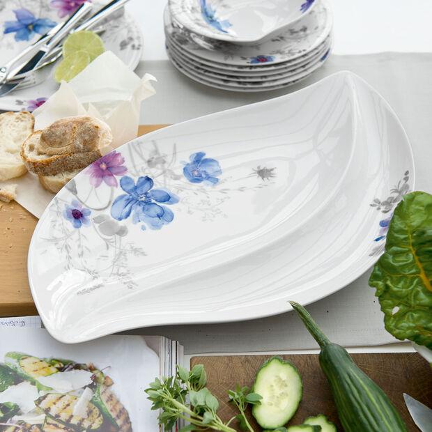 Mariefleur Gris Serve & Salad Assiette à servir 50x30cm, , large