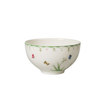 Colourful Spring grand plat creux, blanc/vert