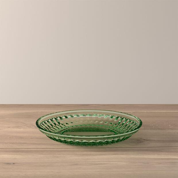 Boston Coloured assiette pour dessert et salade, vert, 21cm, , large
