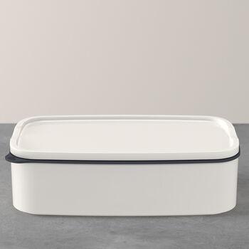 ToGo&ToStay boîte à repas, 20x13x6cm, carrée, blanche