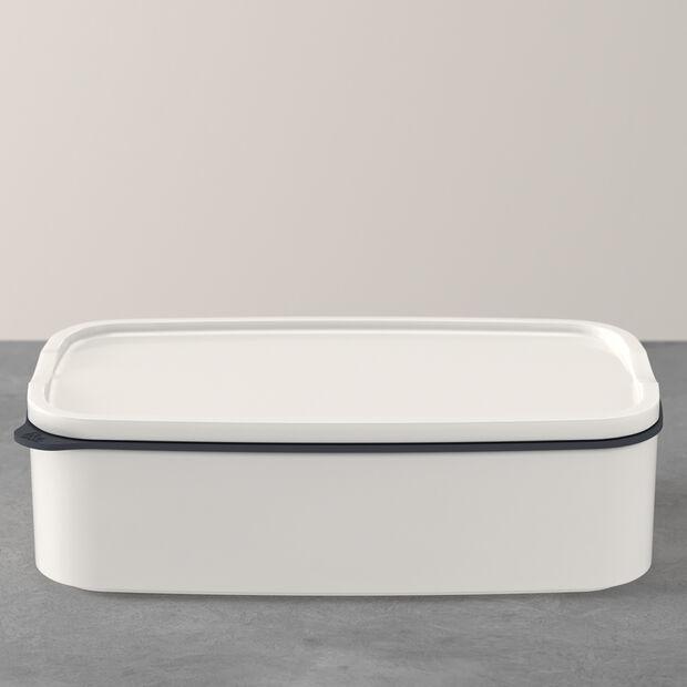 ToGo&ToStay boîte à repas, 20x13x6cm, carrée, blanche, , large