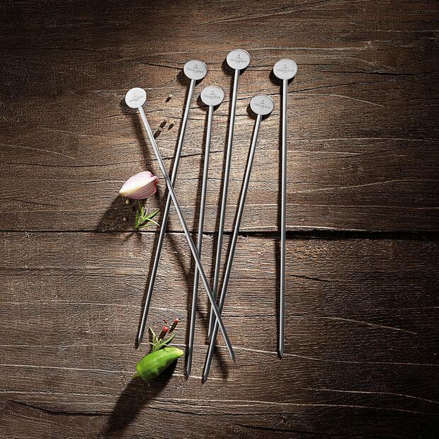 BBQ Passion ensemble de 6pics à brochettes, , large
