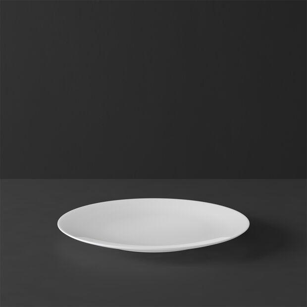 MetroChic blanc Assiette à gâteau/dessert 22x22x2cm, , large