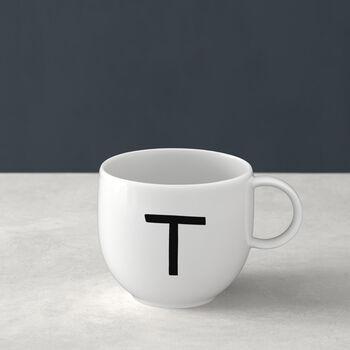 Mug Letters T 13x10x8cm